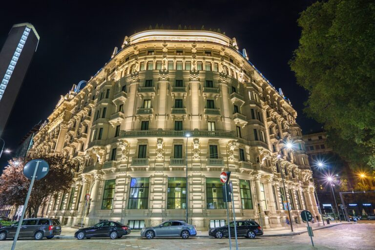 Grand Hotel in Milan, Italy